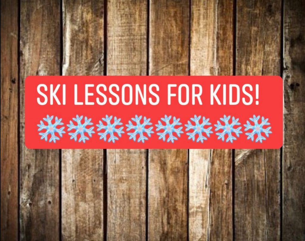 Ski Lessons For Kids